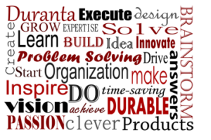 Duranta Products LLC image of word art about problem solving